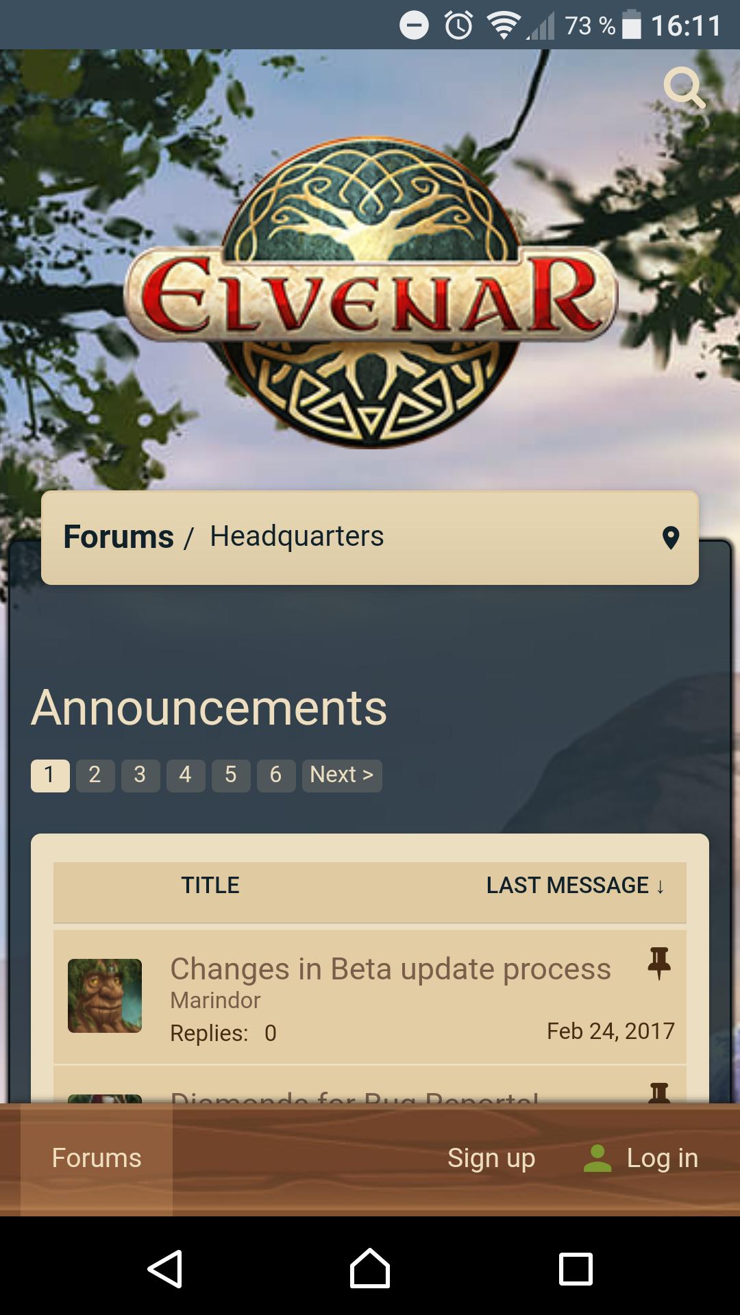 mobile Screenshot Elvenar